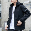 Jacket Fox in the world Youth fashion M L XL 2XL 3XL 4XL 5XL routine Self cultivation Other leisure autumn Polyester 100% Long sleeves Wear out Hood tide youth routine Zipper placket Cloth hem No iron treatment Closing sleeve other polyester fiber Autumn 2020 More than two bags) Side seam pocket