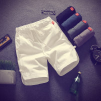 Casual pants Others Youth fashion White, gray, black, dark green, blue, white + white, white + black, white + gray, white + blue, white + dark green, black + black, black + gray, black + blue, black + dark green, gray + gray, gray + blue, gray + dark green, dark green + blue, random T-shirt routine