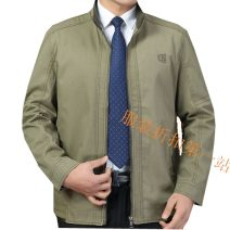 Jacket Other / other other 1706 large dark khaki, 1706 large light khaki, 1702 light grey, 1702 dark grey 200/5XL,195/4XL,190/3XL,185/2XL,180/XL,175/L routine standard go to work Four seasons Fattening jacket series (1969) Long sleeves Wear out routine Zipper placket 2020 washing cotton More than 95%