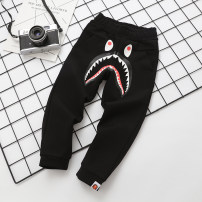trousers Other / other neutral 90cm,100cm,110cm,120cm,130cm,140cm,150cm Black, gray spring and autumn trousers solar system No model Casual pants Leather belt middle-waisted cotton Don't open the crotch Cotton 100% Black Shark pants Class A default 2, 3, 4, 5, 6, 7, 8, 9, 10, 11, 12 years old