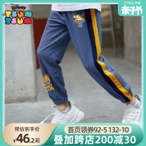 trousers Beitian male 100cm 110cm 120cm 130cm 140cm 150cm 160cm Gray blue light gray + Navy Yellow Mosaic summer trousers leisure time There are models in the real shooting Casual pants Leather belt middle-waisted cotton Cotton 95% polyurethane elastic fiber (spandex) 5% Summer 2021 Chinese Mainland