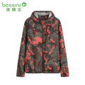 Jacket Bossini / Bao Shilong Youth fashion 839 olive green group, 939 gray group M,L,XL routine standard Other leisure spring Polyester 100% Long sleeves Hood youth routine Zipper placket Closing sleeve