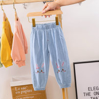 trousers Other / other female 90cm,100cm,110cm,120cm,130cm,140cm summer trousers leisure time No model Knickerbockers Leather belt middle-waisted Denim Open crotch 18 months, 2 years old, 3 years old, 4 years old, 5 years old, 6 years old, 7 years old, 8 years old