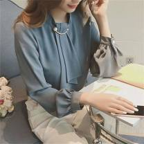 shirt Blue, apricot, pink, white S,M,L,XL,2XL Cashmere 31% (inclusive) - 50% (inclusive) commute Regular Other / other