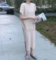 Fashion suit Summer 2020 Average size Black, lotus root, apricot, coffee