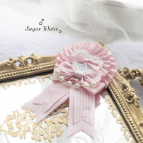 Brooch Ribbon 40-49.99 yuan Other / other Pink