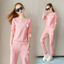 Casual suit Spring 2017 White pink red black AXL216 Ai Zhuo 18-25 years old 71% (inclusive) - 80% (inclusive) cotton Cotton 72.3% polyester fiber 25.5% polyurethane elastic fiber (spandex) 2.2% Pure electricity supplier (only online sales)