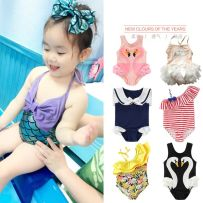 Children's swimsuit / pants Other brands 2t90 (within 20kg) 3t100 (20-25kg) 4t110 (25-30kg) 5t120 (30-35kg) 6t130 (35-40kg) 7t140 (40-45kg) Children's Bikini children's split swimsuit children's one piece swimsuit female nylon
