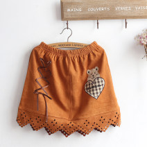 skirt Autumn 2021 Average size Graph color Short skirt Sweet Natural waist A-line skirt Cartoon animation Type A Under 17 51% (inclusive) - 70% (inclusive) other cotton 161g / m ^ 2 (including) - 180g / m ^ 2 (including) solar system