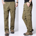 Casual pants Morizuo Youth fashion Army yellow 606 army green 606 Khaki 606 black 606 dark grey 606 M L XL 2XL 3XL trousers Other leisure Straight cylinder No bullet autumn youth like a breath of fresh air 2018 middle-waisted Straight cylinder Cotton 95% polyester 5% Overalls washing cotton
