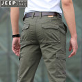 Casual pants Jeep / Jeep other Army green 9008 (thin), dark blue 9008 (thin), khaki 9008 (thin), dark gray 9008 (thin), army green 9006 (regular), black 9006 (regular), khaki 9006 (regular), blue 9006 (regular) thin trousers Other leisure easy Micro bomb summer youth Military brigade of tooling 2021