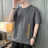 T-shirt Youth fashion routine M L XL 2XL 3XL Kashi Road Short sleeve Crew neck standard Other leisure summer TX81118-3 Cotton 100% youth routine tide other Summer 2021 other printing cotton other No iron treatment Fashion brand Pure e-commerce (online only) More than 95%