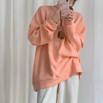 Sweater / sweater Winter 2020 Apricot, grey, light orange, sea blue One size fits all, XXXs pre-sale Long sleeves routine thickening Crew neck commute 18-24 years old Korean version