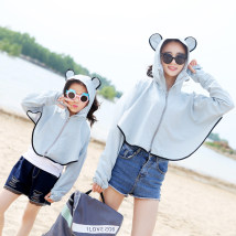 Scarf / silk scarf / Shawl other Spring and summer female Shawl sunshade Korean version triangle Student children - 7-14 years old parent-child couple youth middle age Solid color other 81% (inclusive) - 95% (inclusive) Brief continuation jx1802261909 Spring / summer 2018 no