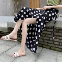 skirt Summer 2021 Xs, one size fits 145-155 Black big wave, blue big wave, white big wave, red big wave longuette Versatile skirt other 18-24 years old More than 95% other Zhenyaluo other