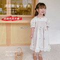 Dress white female Other / other 80cm,90cm,100cm,110cm,120cm,130cm Other 100% summer lady Long sleeves Solid color other A-line skirt AUT1513 7 years old, 12 months old, 3 years old, 3 months old, 18 months old, 2 years old, 5 years old, 4 years old, 6 years old Chinese Mainland