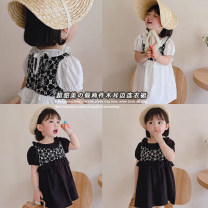 Dress White, black female Other / other 80cm,90cm,100cm,110cm,120cm Other 100% summer princess Strapless skirt Solid color other Strapless skirt AUT1534 12 months, 18 months, 2 years old, 3 years old, 4 years old, 5 years old, 6 years old Chinese Mainland