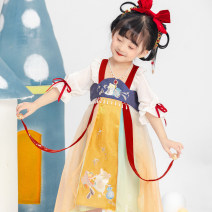 Tang costume Breast length Ru skirt 90,100,110,120,130,140 Polyester 100% female spring and autumn There are models in the real shooting routine Xizi asked polyester fiber Class B other Cotton liner Chinese Mainland Zhejiang Province Hangzhou
