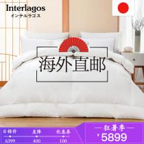 Down / duvet 98% Белый гусиный пух - 160 хлопок 220X240 см (для кроватей 1,8 м и 2,0 м) 200X230 см (для кроватей 1,5 и 1,8 м) Одеяло Зимний сезон Продукт первого класса INTERLAGOS Белый гусиный пух хлопок 95% (включительно) -100% (без учета) подбивка Satin YRB-98 Удержание тепла