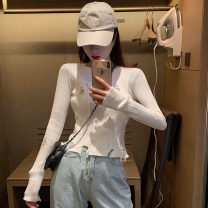 Wool knitwear Autumn of 2019 S M White black Long sleeves singleton  Socket other More than 95% have cash less than that is registered in the accounts Thin money commute Self cultivation Low crew neck routine Solid color Socket XDL8610827 18-24 years old Sendery Other 100%