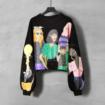 Sweater / sweater Spring 2021 Sweater S M L XL 2XL Long sleeves have cash less than that is registered in the accounts Socket singleton  routine Crew neck easy commute routine Cartoon animation 30-34 years old 96% and above Duo Yue Retro other Other 100% Pure e-commerce (online only)