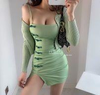 Dress Summer of 2019 Green pre sale S,M,L