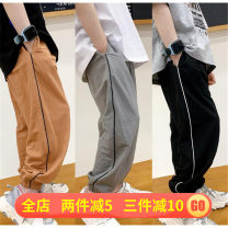 trousers Rubber belt Three, four Other / other male trousers summer There are models in the real shot leisure time Other 100% 20x89013 K2089 Grey Spot, black spot, apricot spot Tag 7 / 110cm, tag 9 / 120cm (Xiaoyu model), tag 11 / 130cm, tag 13 / 140cm, tag 15 / 150cm, tag 17 / 160cm