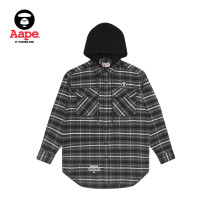 shirt Youth fashion Aape S M L XL routine other Long sleeves standard Other leisure Cotton 100% Winter 2020 Same model in shopping mall (sold online and offline)
