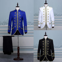 shirt Fashion City Others S,XL,L,M,XS White, red, blue, black routine stand collar Long sleeves standard dance Four seasons