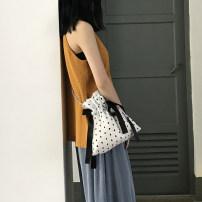 Bag Inclined shoulder bag polyester fiber other Other / other White dot chain package red dot chain package blue dot chain package Inclined shoulder bag