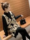 Wool knitwear Autumn of 2019 S,M,L,XL,2XL,3XL,4XL Black, apricot Two piece set other 30% and below routine commute Korean version WN0001019