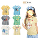 T-shirt summer solar system No model in real shooting nothing Cotton 100% QQDJK012 Class A Sweat absorption neutral Other / other 2 years old, 3 years old, 4 years old, 5 years old, 6 years old, 7 years old, 8 years old cotton Cartoon animation Short sleeve Crew neck 80cm,90cm,100cm,110cm,120cm,130cm