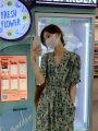 Women's large Summer 2021 Green dress M [85-105 Jin], l [105-120 Jin], XL [120-135 Jin], 2XL [135-150 Jin], 3XL [150-165 Jin], 4XL [165-180 Jin] Dress singleton  commute moderate Socket Short sleeve Korean version V-neck routine other routine ngqm7710404007 18-24 years old Bandage Medium length