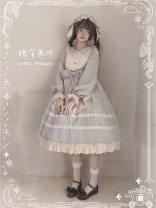 Dress Summer 2020 Light blue rabbit hair cap, light blue dress, black dress, black rabbit hair cap S,L,M Sweet 25-29 years old Splicing other polyester fiber