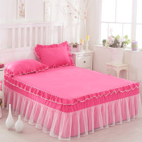 Bed skirt Others Chocolate, violet, purple, pink rice, purple powder, medium powder, jade, light powder, bright red, fruit green, green powder, beige Other / other Solid color