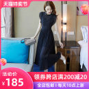 Dress Summer 2021 black S M L XL Mid length dress singleton  Sleeveless commute Crew neck High waist Solid color zipper Big swing routine Others 25-29 years old Type A Beichizel lady Pleated zipper resin fixation 3D More than 95% Chiffon polyester fiber Polyester 100% Pure e-commerce (online only)