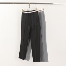 Casual pants Black, gray S,M,L,XL Spring 2021 Ninth pants Haren pants commute routine 51% (inclusive) - 70% (inclusive) 412-920 Yiwuqi other pocket