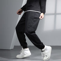 Casual pants GxxH Fashion City black 2XL 3XL 4XL 5XL 6XL routine trousers Other leisure easy Micro bomb k10533c autumn Large size tide 2020 middle-waisted Little feet Cotton 80% polyester 20% Sports pants other other cotton Autumn 2020 Pure e-commerce (online only) 80% (inclusive) - 89% (inclusive)