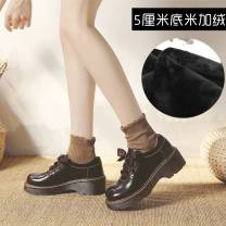 Low top shoes 34,35,36,37,38,39,40 Other / other Round head Double skin mulching Internal elevation Low heel (1-3cm) Shallow mouth Superfine fiber Summer of 2019 Trochanter solar system Adhesive shoes Youth (18-40 years old) Solid color TPR (tendon) Single shoes Shallow mouth, cross bandage I28112