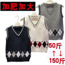 Vest neutral Red, gray, blue, off white 100cm,110cm,120cm,130cm,140cm,150cm,160cm,170cm,180cm Other / other spring and autumn routine There are models in the real shooting Socket college Pure cotton (100% content) other Cotton 100% Class B