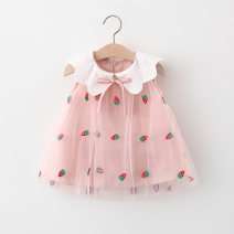 Dress Pink, blue, yellow female Other / other 66cm,73cm,80cm,85cm,90cm,95cm,100cm Cotton 95% polyester 5% summer Sweet Skirt / vest Fruits and Vegetables cotton Princess Dress Q2103203 Class A 12 months, 6 months, 9 months, 18 months, 2 years, 3 years, 4 years Chinese Mainland Hubei province
