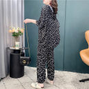 Fashion suit Summer 2021 Average size Black and white 18-25 years old Kahsuan Cotton 94% polyurethane elastic fiber (spandex) 6% Pure e-commerce (online only)