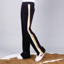 Casual pants RICCIWEE Fashion City routine trousers Other leisure easy get shot 2018 middle-waisted Original designer