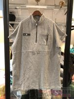 Dress Spring 2021 Picture color one, picture color two 38,40,42 Short sleeve street stand collar routine 30% and below other Europe and America