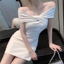 Scarf / silk scarf / Shawl other White s White m white l White XL summer Solid color Buyido Summer 2021