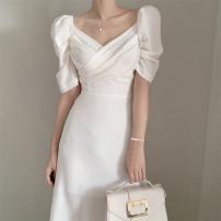 glove polyester fiber White pink S M L XL Yingzi instrument Spring 2021