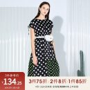 Dress Summer 2020 Pattern 34/XS/155,36/S/160,38/M/165,40/L/170,42/XL/175 Mid length dress singleton  Sleeveless Crew neck middle-waisted Dot Socket A-line skirt other 25-29 years old Type X Peoleo / piaoyei Frenulum PR521204LC397 More than 95% other polyester fiber