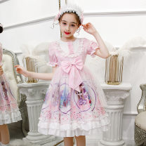 Dress female Summer fun 110cm 120cm 130cm 140cm 150cm 160cm Other 100% summer Lolita Short sleeve bow other Princess Dress &1582818 Class B Spring 2020 3 years old, 4 years old, 5 years old, 6 years old, 7 years old, 8 years old, 9 years old, 10 years old, 11 years old, 13 years old, 14 years old