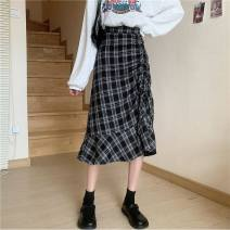 skirt Summer 2013 S,M,L Picture color Mid length dress Retro High waist lattice 18-24 years old 51% (inclusive) - 70% (inclusive) other Other / other nothing
