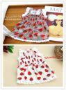 Pet clothing / raincoat Dog Dress XS,S,SM,M,L,XL bunny princess Red, purple